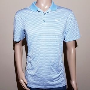 NIKE GOLF Standard Fit Men's Large Dri-Fit Polo